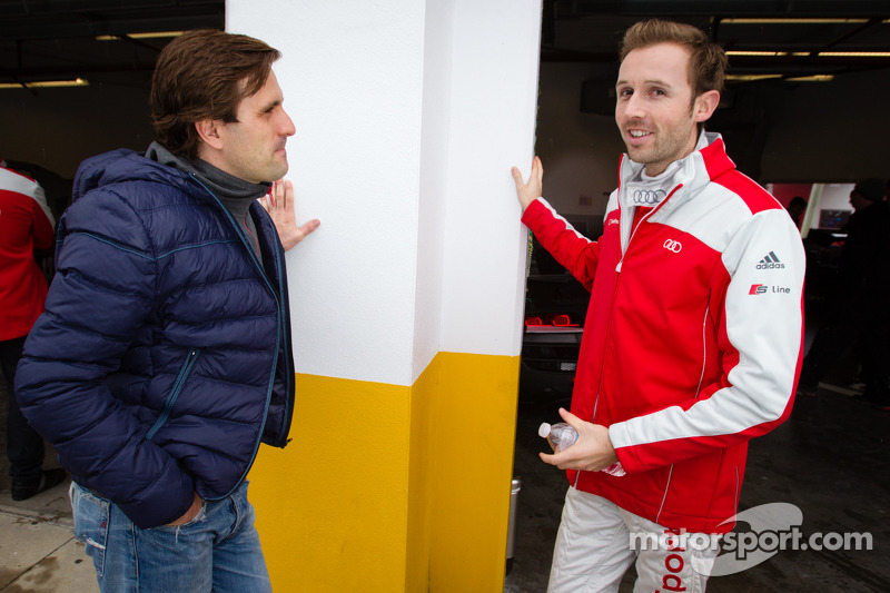 Markus Winkelhock and René Rast
