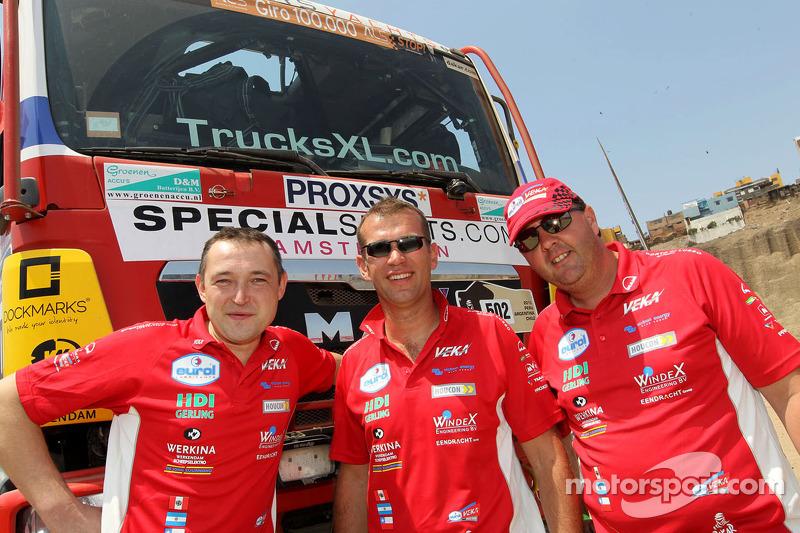 #502 MAN: Marcel van Vliet, Artur Klein, Marcel Pronk