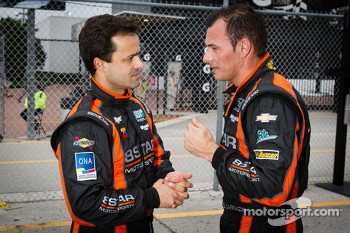 Pedro Lamy and Stphane Sarrazin