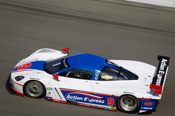 #9 Action Express Racing Corvette DP: Joao Barbosa, Brian Frisselle, Burt Frisselle