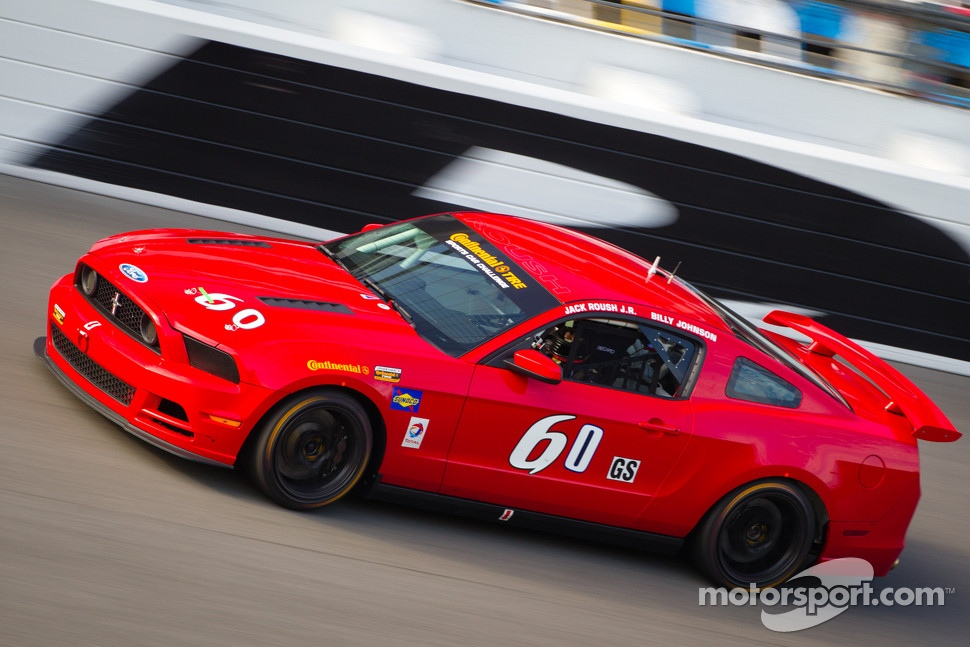 #61 Roush Performance Mustang Boss 302R GT: Billy Johnson, Jack Roush Jr.