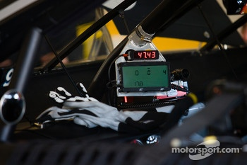Instrument panel for Marcos Ambrose, Richard Petty Motorsports Ford
