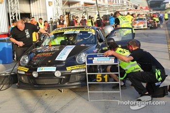 #51 LV Motorsport Porsche 997 Cup: Bashar Mardini, Claus Donnerstag, Thomas Raldolf, Jannik Larsen, Michael Holden