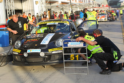 #51 LV Motorsport Porsche 997 Cup: Bashar Mardini, Claus Donnerstag, Thomas Raldolf, Jannik Larsen, Michael Holden