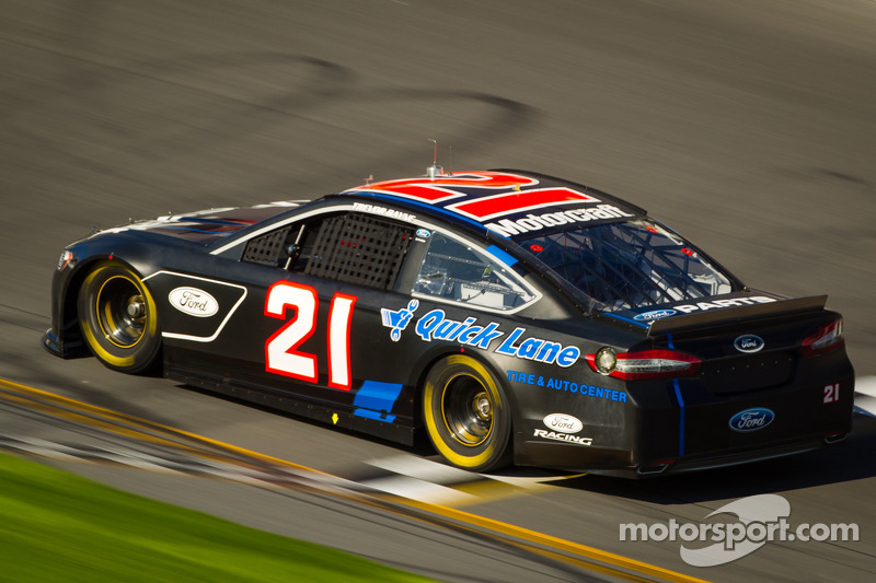 Trevor Bayne, Wood Brothers Racing Ford