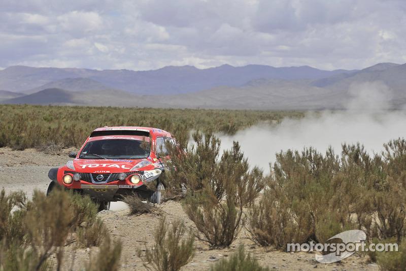 #318 Nissan Juke Buggy: Christian Lavieille and Jean-Michel Polato
