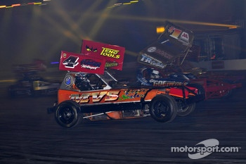 BRISCA F1 Stock car racing in the live action arena