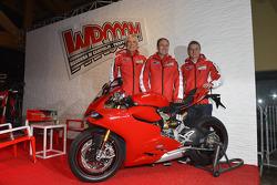 Ducati officials