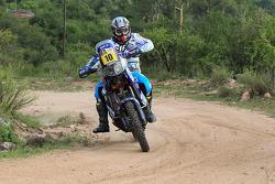 DAKAR: #10 Yamaha: David Casteu