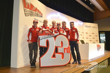 The Ducati team