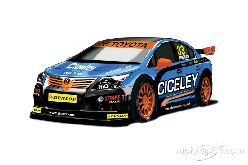 Ciceley Racing's new Toyota