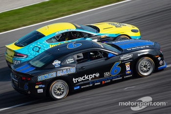 #6 Mitchum Motorsports Camaro GS.R: Lawrence Davey, Mike Skeen, #140 Automatic Racing Aston Martin Vantage: Tim Fox, Kris Wilson