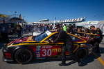 #30 MOMO/NGT Motorsport Porsche GT3 at technical inspection