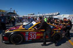 #30 MOMO/NGT Motorsport Porsche GT3 at technical inspection