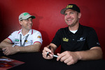 Robert Kauffman and Clint Bowyer