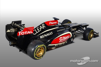 The 2013 Lotus F1 Team E21
