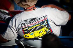 A Corvette fan