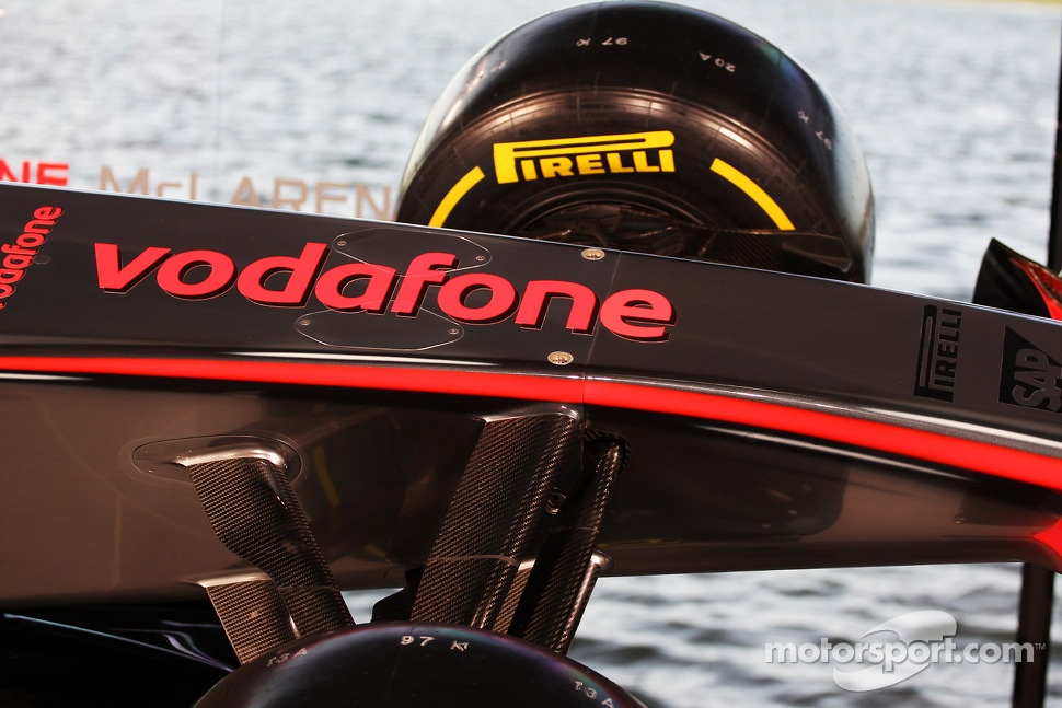 McLaren MP4-28 detail
