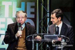 Jean Todt, FIA president, Pierre Fillon, president of the ACO