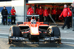 Max Chilton, Marussia F1 Team leaves the pits