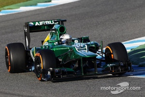 Giedo van der Garde, Caterham