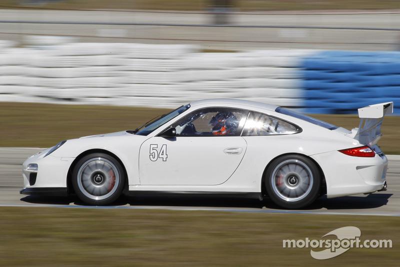 CORE autosport tests their Porsche GT3 Cup