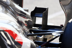 Sauber C32 rear suspension and rear wing detail