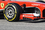 Felipe Massa, Ferrari F138 front wing detail