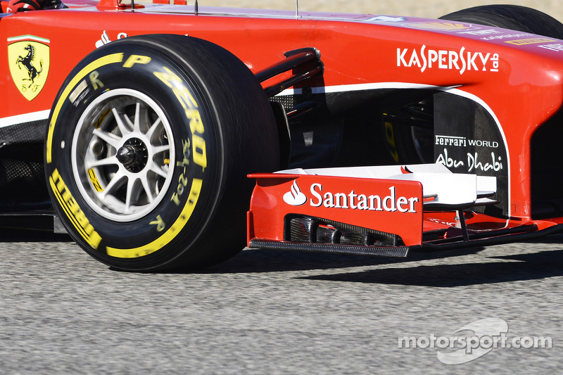 Felipe Massa, Ferrari F138 front wing detail