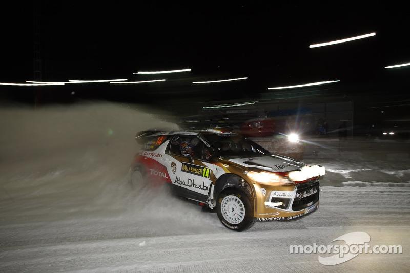 Daniel Sordo and Carlos del Barrio, Citroen DS3 WRC, Citroën Total Abu Dhabi World Rally Team