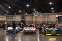 2013 Ford Fusions on display