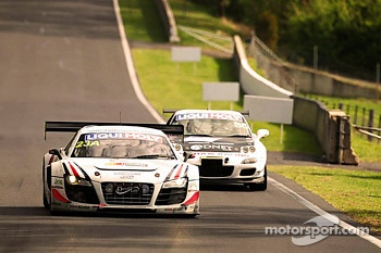 #23 United Autosports Audi R8 LMS Ultra: Mark Patterson, Alain Li, Brendon Hartley