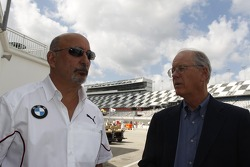 Bobby Rahal, Team Principal BMW Team RLL and James C. France, NASCAR Vice Chairman/Executive Vice President