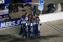 Team of Kasey Kahne, Hendrick Motorsports Chevrolet