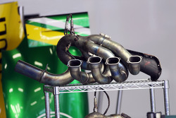 Caterham CT03 exhaust