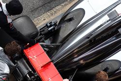 McLaren MP4-28 exhaust detail