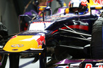 Mark Webber, Red Bull Racing RB9 front suspension detail