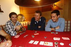 Marco Bonanomi, Marcel Fässler and Filipe Albuquerque