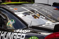 Rear spoiler detail for Jeff Gordon, Hendrick Motorsports Chevrolet