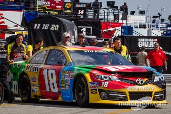 Car of Kyle Busch, Joe Gibbs Racing Toyota