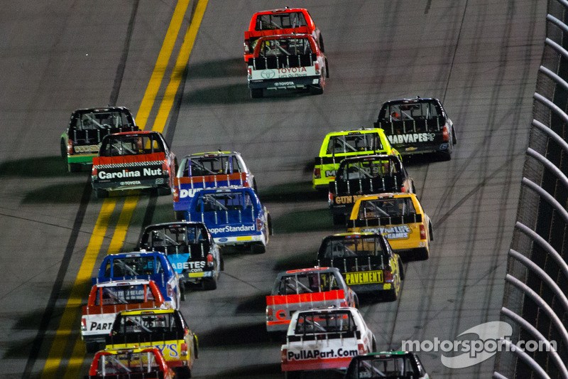 Ty Dillon leads the field