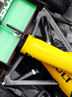 Caterham CT03 rear suspension