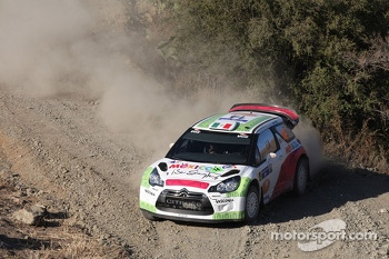 Benito Guerra and Borja Rozada, Citron DS3 WRC