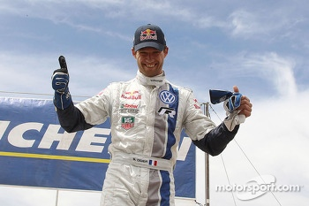 Winner Sbastien Ogier, Volkswagen Motorsport