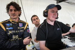 Andrea Belicchi, Nicolas Prost, Rebellion Racing team manager Bart Hayden