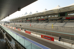Yas Marina atmosphere