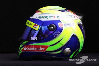 The helmet of Felipe Massa, Ferrari