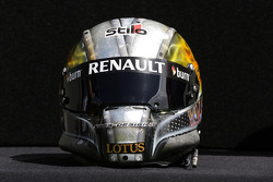 The helmet of Davide Valsecchi, Lotus F1 Third Driver