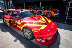 Vintage MOMO Porsche in the paddock