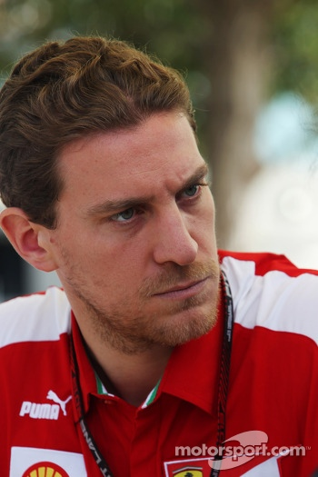 Renato Bisignani, Ferrari Head of Communications